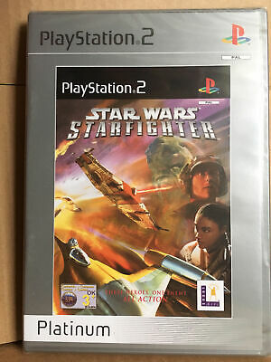 Star Wars: Starfighter (PS2) New and Sealed **RARE**