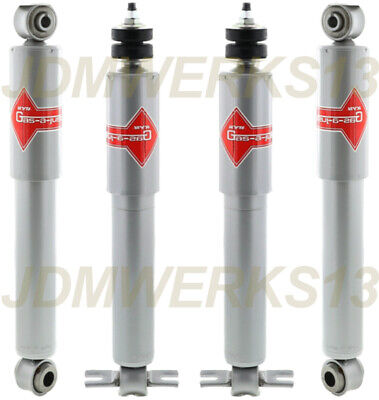 343149 for Toyota Corolla AE86 86-87 KYB Excel-G Shock Absorbers Kit 365076