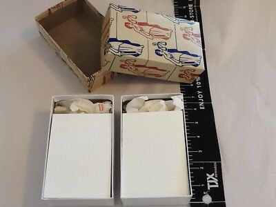 """Grid note / thought cards heavy duty card stock 3-1/2"""" x 5"""" TWO BOXES 100 per"""