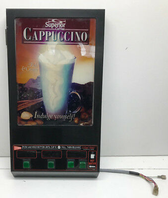 Cecilware GB3M, Superior Cappuccino Machine 3 Head, Door Panel, Used As Is