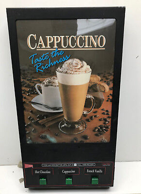 Cecilware GB3M-LD 3-Head Hot Chocolate/Cappuccino Machine Door Panel, Used As Is