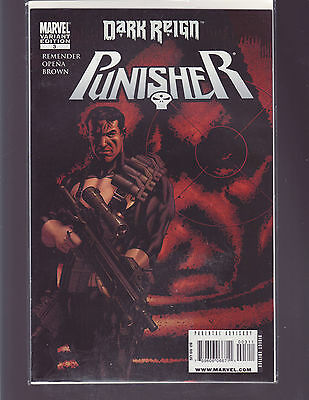 Punisher #3 Variant (Marvel 2009) Dark Reign Tie In  Unread/bagged And Boarded