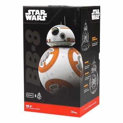 New Sphero BB-8 Star Wars Original Disney Orange White App-Enabled Droid