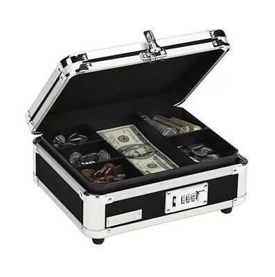 Durable Safe Cash Box Lock Case Security Combination Jewelry Money Gun Storage