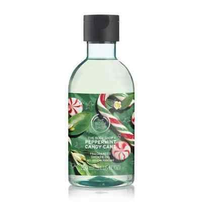 New Vegetarian The Body Shop Gifts Peppermint Candy Cane Shower Gel