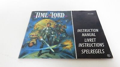 Time Lord - NES manual only