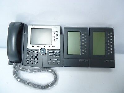Cisco IP Phone - 7965 With 2  Cisco IP Phone 7914 EXPANSION MODULES 47-11031-02