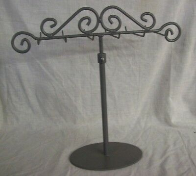 Store Display Fixtures NEW 12 PEG BOUTIQUE STYLE DISPLAY STAND ADJUSTABLE