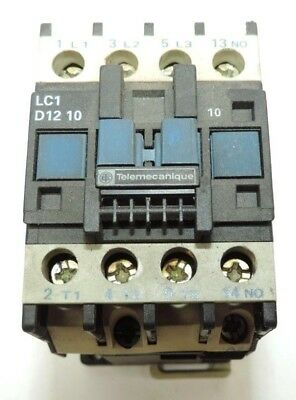 # LC1D1201 100V Coil Telemecanique AC Contactor Warranty Used LC1 D12 01