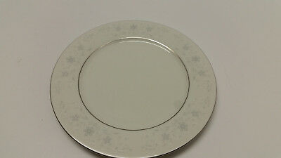 """Crown Fine China Queens Lace Salad Plate 7 5/8"""""""