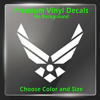 US Air Force Decal - Vinyl Air Force Sticker - Military Veteran Vinyl Decal POW