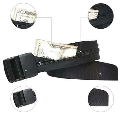 Unisex Travel Security Money Belt With Hidden Pocket Cash safe Anti-Theft Wallet
