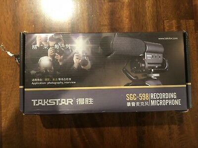TAKSTAR SGC-598 Video Photography Interview Recording microphone