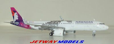 NEW: 1:400 GEMINI JETS HAWAIIAN AIRLINES AIRBUS  A321-200 Model GJHAL1653