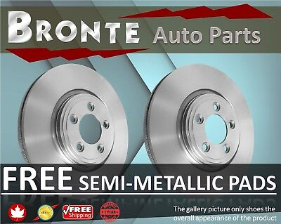 2008 2009 2010 Ford F-350 Super Duty Brake Rotors and Free Pads Front 4WD;SRW