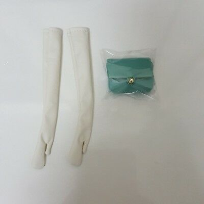 Fashion Royalty East 59th St Evelyn Turquoise Sparkler Bag & glove Only