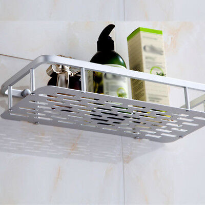 Stainless Steel Non Rust Bathroom Shower Shelf Storage Suction Basket Tidy