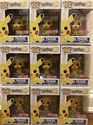 Funko Pop! Games: Pokemon Pikachu #353 Target Exclusive In Hand Ships Fast!