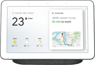 NEW Google GA00515-AU Home Hub Charcoal