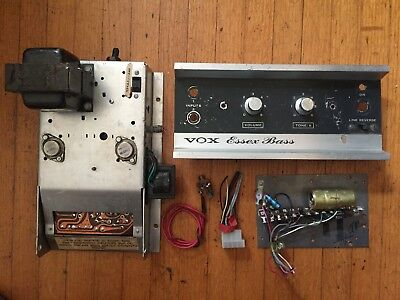 Vintage Inner & Outer parts from 1960's Vox Essex Bass Guitar Amplifier Cabinet