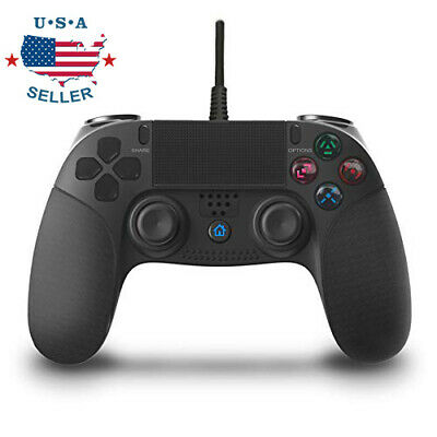 For PS 4 Controller Multiple Vibration Cable 2.2 M Wired Game Controller Handle