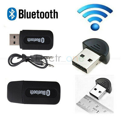 USB 2.0 Wireless Bluetooth 3.5mm Jack Music Receiver Stereo Audio Adapter Cable