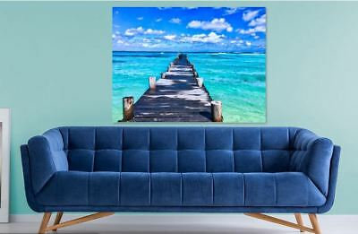 LOVING BEAUTY OF  NATURE Framed home wall Picture Art Canvas choose your size