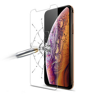 Premium Real 2.5D Screen Protector Tempered Glass Film For iPhone 6 7 8Plus X XS
