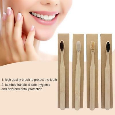 10X Bamboo Toothbrush Oral Care Soft Teeth Brushes Environmental Eco Friendly