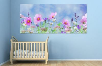 COLORFUL NATURE LOVING Framed home wall Picture Art Canvas choose your size