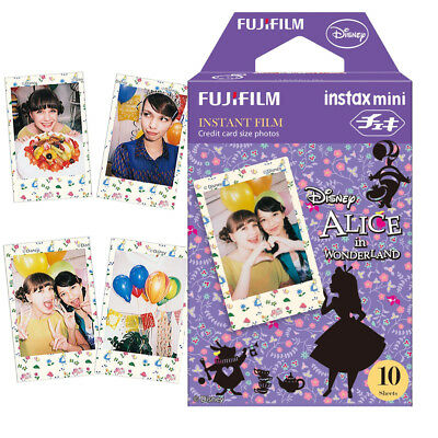Fujifilm Instax Mini Disney Alice 10 Film For Mini 7s 8 25 70 90 Camera SP-2 US
