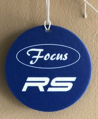Ford Focus RS - Car Window Air Freshener- Brand New - Fresh Sport scent