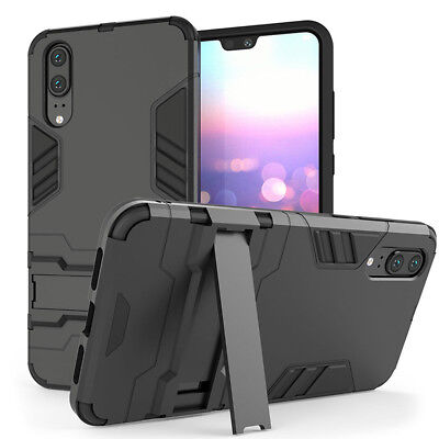 For Huawei Mate 20 Pro Case Heavy Duty Armour Shockproof Stand Full Phone Cover