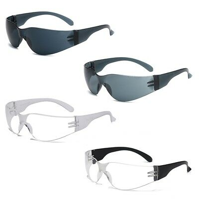 Safety Specs Work Spectacles Glasses Clear Sunglasses Anti-UV Outdoor Sports