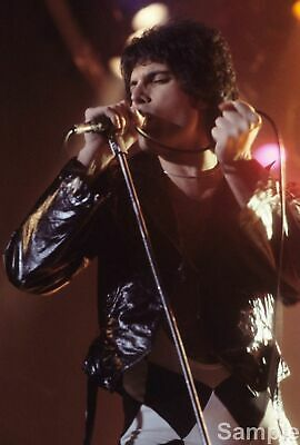 Freddie Mercury Legendary Singer Queen Glossy Music Photo Print Picture
