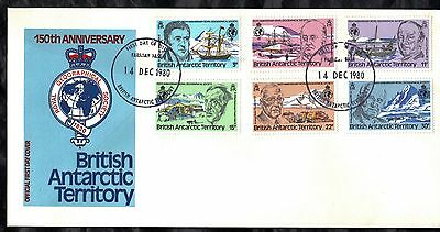 British Antarctic Terr 1980 First Day Cover - Anniv Royal Geographical Society
