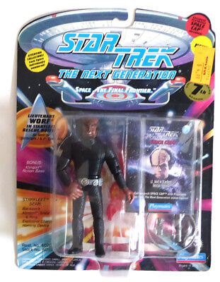 Star Trek Next Generation Figur -- WORF (Rescue Outfit) -- NEU MOC