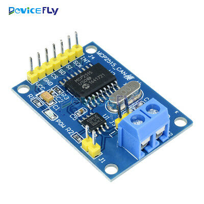 MCP2515 CAN Bus Module TJA1050 Receiver SPI Module 5V For Arduino Raspberry Pi