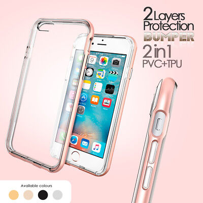Genuine Crazy Hybrid Bumper Cover Shock Proof Case for Apple iPhone 7 8
