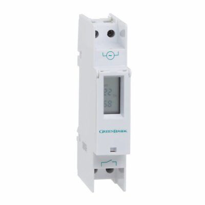 Green Brook T80-C Din Rail Mounting Digital Compact Timer
