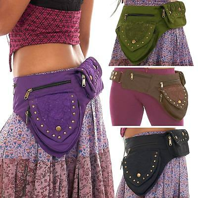 Pixie Pocket Belt, Festival Belt Bag, Hippy Boho Belt, Travel Utility Belt Bag