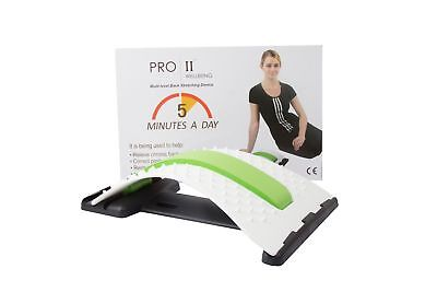 Hot Selling Correction Pad/Back Stretcher, Lumbar Massaging Support white