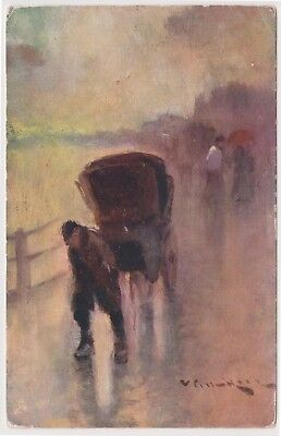 (K125-32) 1920 GB PC unused on the parade painting (AG)