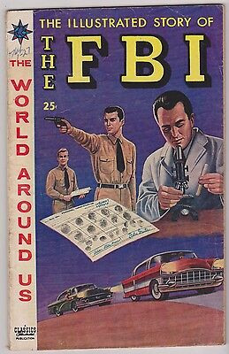 World Around Us #6 featuring The Illustrated Story of The FBI, Fine Condition