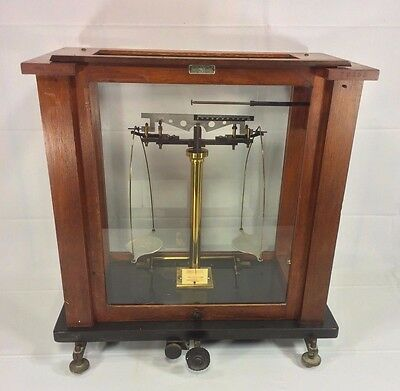 Antique Volanda & Sons Scale Metal Base Missing Top Glass New Rochelle NY