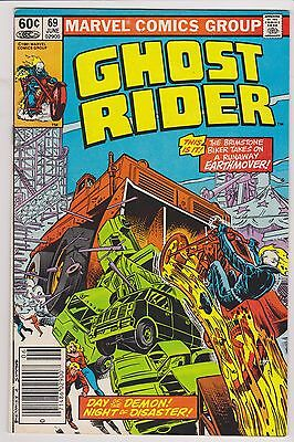 Ghost Rider #69 - Very Fine - Near Mint Condition'