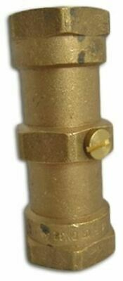 Reliance Brass Double Non Return Valve Floguard 1 in BSP Female