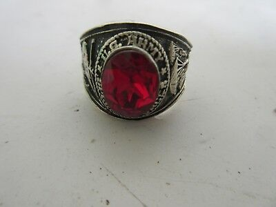 US Army Special Forces USMC Marines Navy NAM Insignia Ring NAM PX Sterling Ro 67