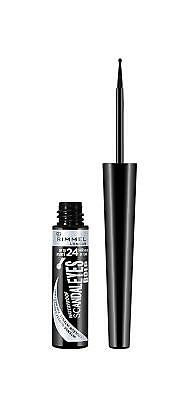 Rimmel London Scandaleyes Bold Liquid Waterproof Eyeliner Black 2.5 ml