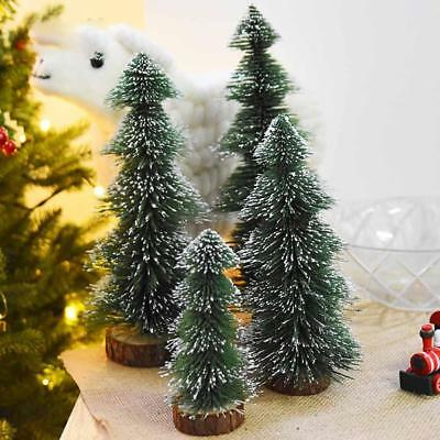 Artificial Tabletop Mini Christmas Tree Decorations Festival Miniature Xmas Tree